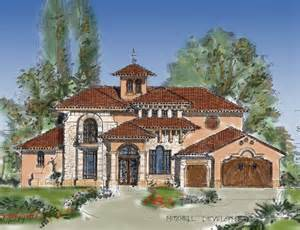 tuscan style house plans 5164 square foot home 2 story 4