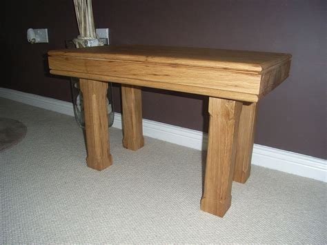 Handmade Oak Tables - handmade oak coffee tables oak designs