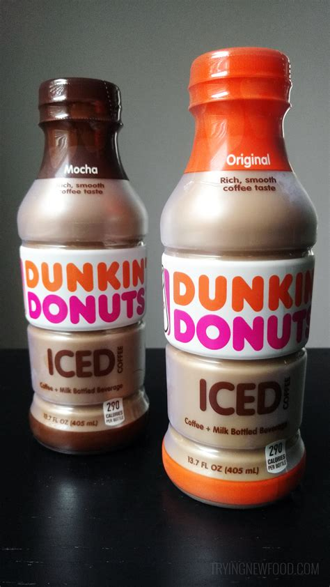 Iced Coffee Dunkin Donuts dunkin donuts bottled iced coffee trying new food