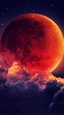 iphone  wallpaper super blood moon lunar eclipse