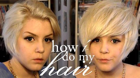volumizing short haircut how to my short hair volumizing styling youtube