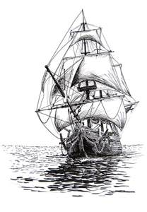 realistic pirate ship drawing 25 best ideas about ship drawing on pirate
