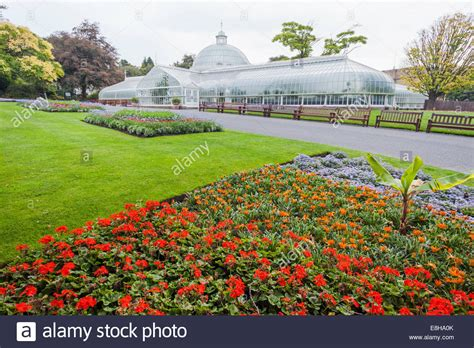 Botanical Gardens Glasgow Scotland Glasgow Botanic Gardens Kibble Palace Greenhouse Stock Photo Royalty Free Image
