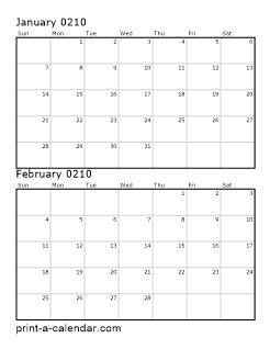 download 210 printable calendars