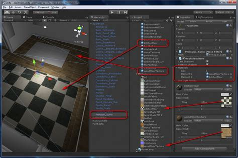 Unity Editor Layout Texture | materials and textures from blender to unity 3d