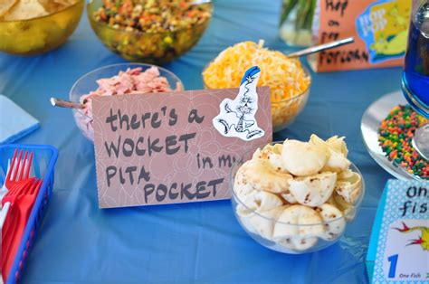 Dr Seuss Baby Shower Food Ideas by Dr Seuss Themed Baby Shower Serving From Home