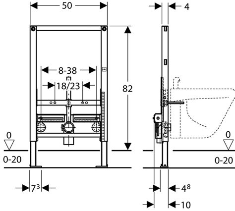 bati support bidet suspendu bati support bidet geberit duofix hauteur r 233 duite 82 cm