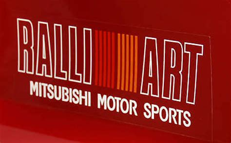 ralliart logo mitsubishi s ralliart division winds operations
