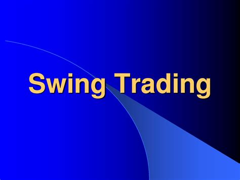 forex swing trading forex swing trading
