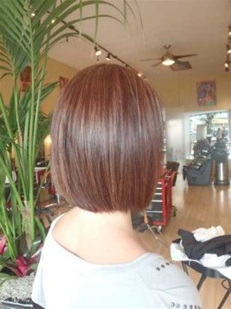 a line haircuts front and back views graduated bob haircut front and back views short