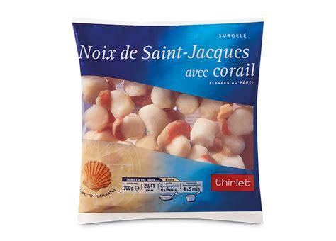 cuisiner des coquilles jacques surgel馥s noix de st jacques 20 224 41 pi 232 ces surgel 233 gamme