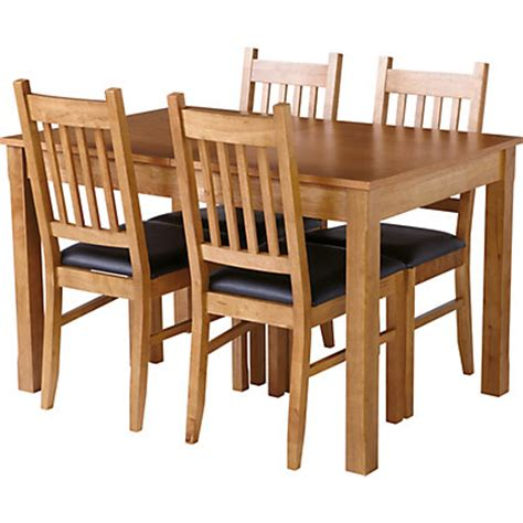Cucina Dining Table Hygena Cucina Extending Dining Table And 4 Chairs Oak
