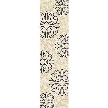 Better Homes And Gardens Iron Fleur Area Rug by Better Homes And Gardens Iron Fleur Runner Rug Walmart