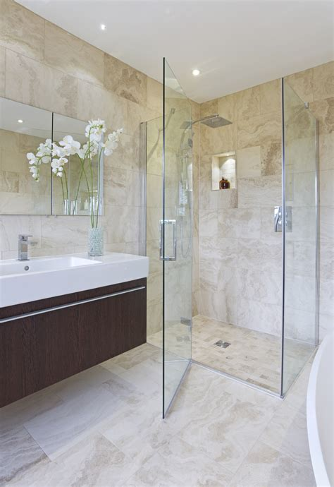 Frameless Shower emerging shower enclosure trends
