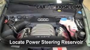 Audi A6 Power Steering Fluid Fix Power Steering Leaks Audi A6 2005 2011 2008 Audi