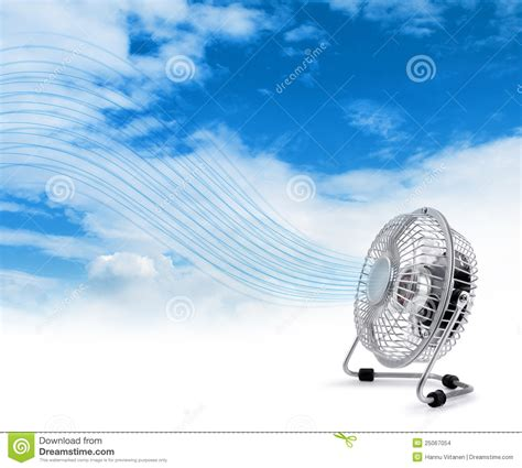 image of a fan electric cooler fan blowing fresh air stock images image