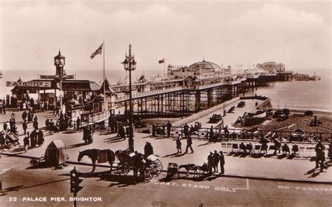 The Palace Pier And Theatre Brighton Later Brighton Pier | the palace pier and theatre brighton