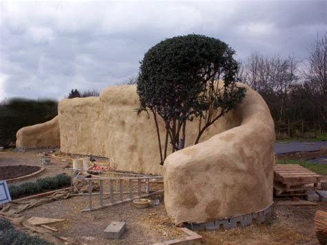 straw bale garden wall straw bale wall architectural features straw bales walls and fences