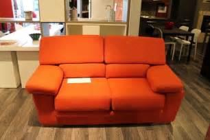 divani arancioni alberta salotti divano arancio scontato 59 divani