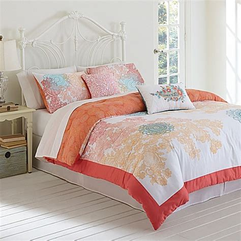 buy jessica simpson sherbet lace comforter set from bed
