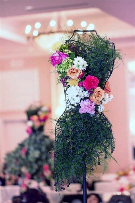 wire mannequin roses carnations flower arrangements