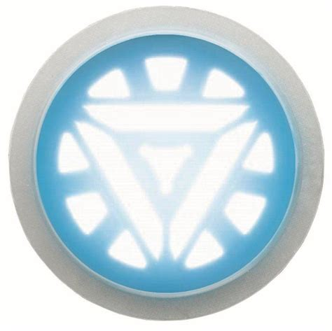 iron man arc reactor glow chest piece costume accessory