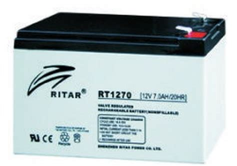 Baterai Ritar rt1270lf2 12v 7ah sla ritar batteries rechargeable