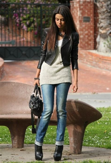 Always In Fashion Luxurious Leather Bglam by Black Leather Jacket Always Trendy