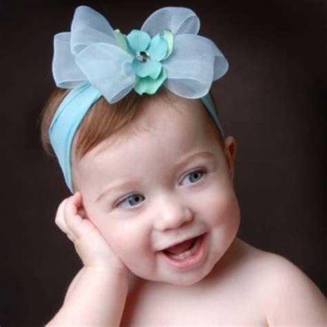 Headband Import Top Baby 4 baby bling aqua blue mist bow headband
