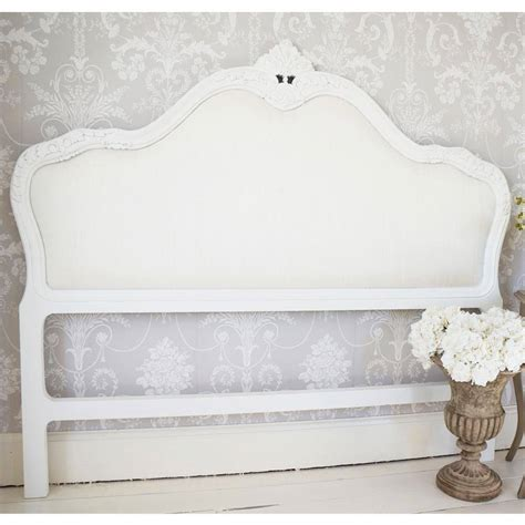 White Padded Headboard by Beautiful Headboards Upholstered Headboards