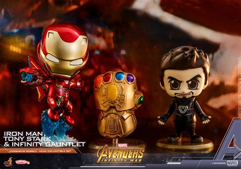 Toys Cosbaby Iron I Metallic Colour Version Bobble even more toys infinity war cosbaby bobble heads figures