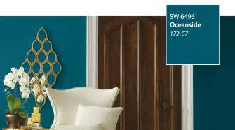 color of the year sherwin williams introducing the 2018 color of the year oceanside sw 6496