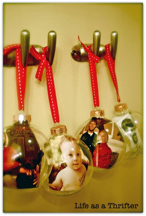diy christmas ornaments diy photo christmas ornaments pinpoint