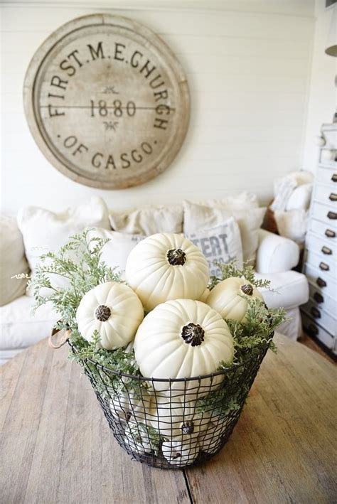 fall table centerpiece decorations best 25 wire basket decor ideas on