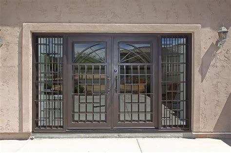 Front Door Security Products by Modern Iron Entry Door By Impression Security Doors