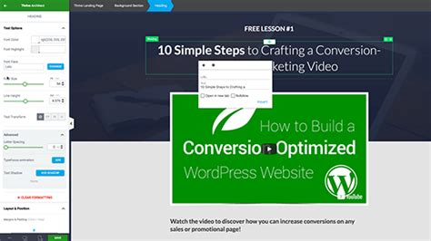 6 Best Wordpress Landing Page Plugins Tools For 2018 Wp Superstars Thrive Architect Landing Page Templates