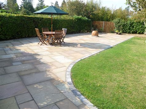 Patio Garden Designs Paving Patio Paving Ideas To Give You Garden Envy