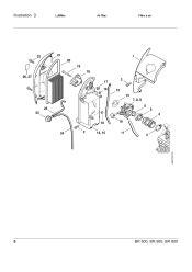 stihl br 600 parts diagram stihl br 600 magnum parts list page 10