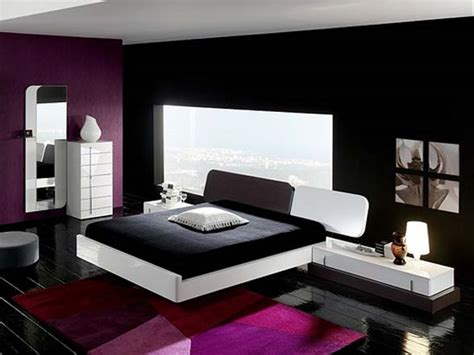 Purple And Black Rooms | 19 black interior images