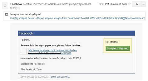 cara membuat facebook email cara membuat facebook terlengkap mastepa