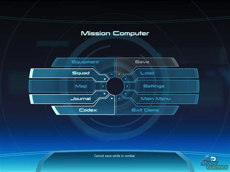 design game menu mass effect windows main in game menu interface