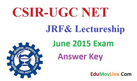 pattern of ugc net june 2015 csir ugc net jrf answer key 2015 ugc net 21 june exam