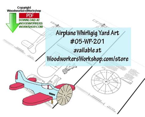 airplane whirligig plans  bcause