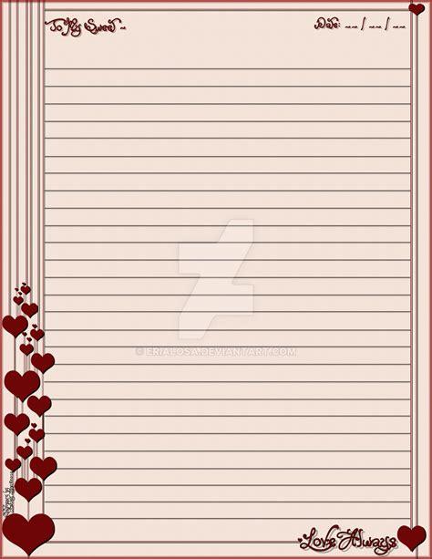 printable stationary love love always stationary by erialosa on deviantart