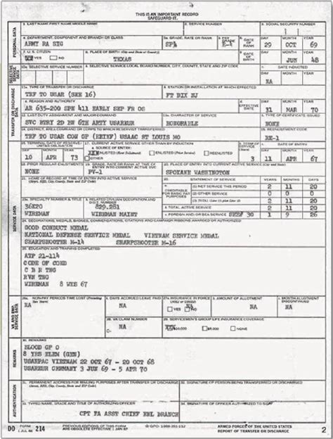 marine corps dd214 form how to understand your vietnam veteran s dd 214 discharge form