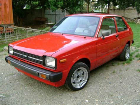 1982 Toyota Starlet 1982 Toyota Starlet Pictures Cargurus
