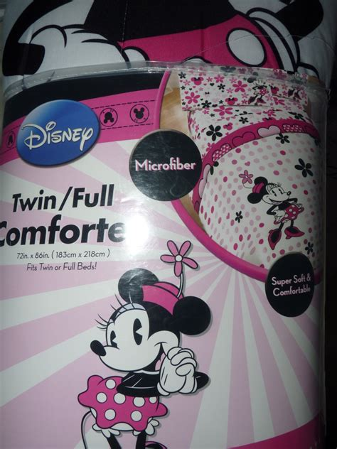 minnie mouse bedding twin minnie mouse twin comforter set