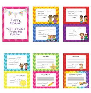 quot happy grams quot positive notes to parents the o jays note
