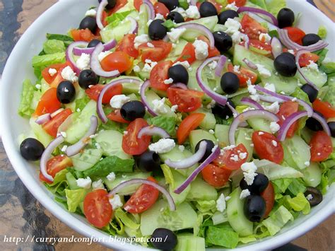 greek salads kitchen simmer greek salad with creamy dressing
