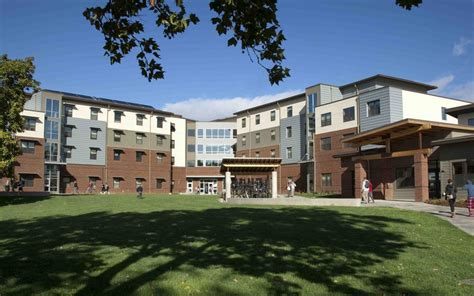 cwu housing leed platinum for cwu barto residence hall mw engineering